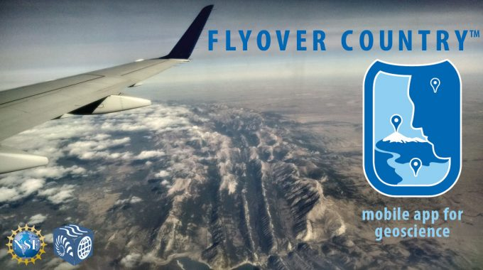 Application Mobile Flyover Country